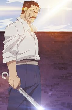 Day 5: Favorite Antagonist - FMA: B - King Bradley/Wrath - Technically he is only one part of the main antagonist, but I think he was the best part! He's pure badass and scary as hell!