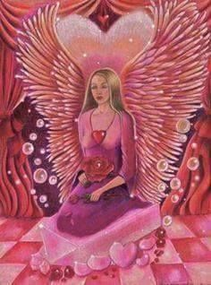 Angel of Love.love yourself and others unconditionally as your angels love you.