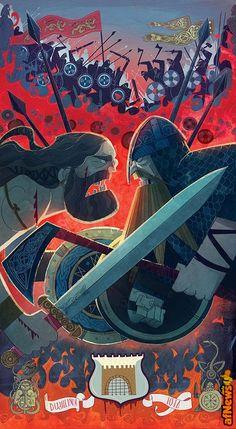 I disegni di Cartoon Saloon per ricordare la battaglia di re Brian contro i Vichinghi - http://www.afnews.info/wordpress/2016/06/23/i-disegni-di-cartoon-saloon-per-ricordare-la-battaglia-di-re-brian-contro-i-vichinghi/