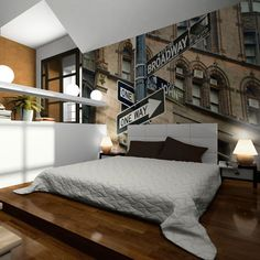 Vlies Fototapete 250x193 cm - Top ! Tapete ! Wandbilder XXL ! ! New York ! 100404-121: Amazon.de: Küche & Haushalt
