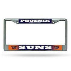 Phoenix Suns NBA Chrome License Plate Frame