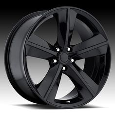 Black wheels can look really good on a car like the Dodge Charger. Do you prefer black or chrome?