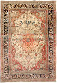 Luka would have this rug in his house because he lives in China and that is and oriental Chinese rug.