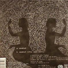 """Vanessa Da Silva 2006 Tunng - Woodcat (7"""") [Full Time Hobby FTH020S] #backcover"""