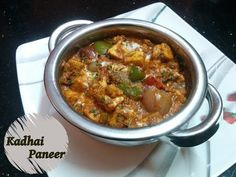 I have prepared it an authentic Punjabi Dhaba style. It tastes nice that you can be a fan. Kadai Paneer In Authentic Punjabi Dhaba Style recipe step by step Paneer Recipe In Hindi, Paneer Recipes, Indian Food Recipes, Ethnic Recipes, Kadhai Paneer, Paneer Dishes, Yummy Food, Tasty, Recipe Steps
