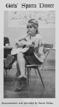 Stevie Nicks in 1966.