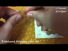 [Re-ment] SAN-X) Rilakkuma birthday cake #8 - YouTube Rement, Rilakkuma, Birthday Cake, San, Youtube, Collection, Birthday Cakes, Youtubers, Cake Birthday