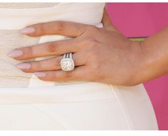 looks like khloe kardashian wedding set - Giuliana Rancic Wedding Ring