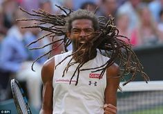 Dustin Brown became an overnight superstar @ Wimbledon when the German professional tennis player from the town of Celle , ranked the Tennis world number 102 shook Wimbledon by knocking out two-time champion Rafael Nadal.