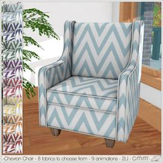 Alouette - Chevron Chair