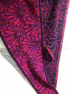 Free knitting pattern for Chrysantheme Shawl