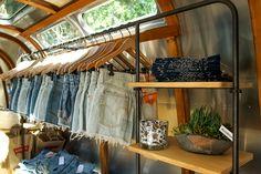 Truck Store, Camper Store, Rv Store, Mobile Boutique, Mobile Shop, Homemade Trailer, Retail Store Design, Retail Stores, Interior Design Classes