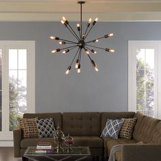 This Classic 1960S Mid Century Modern Sputnik Style Chandelier Amazing Modern Lights For Dining Room Design Inspiration