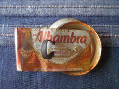 1 x Zimbeln recyclelt aus Bierdose handgemacht...