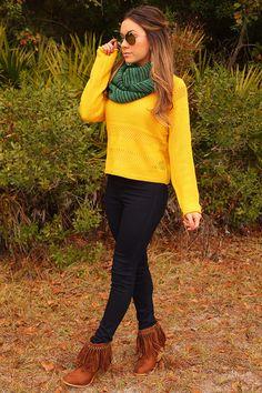 Drops Of Honey Sweater: Honey #shophopes