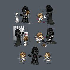 Darth Vader as a Dad! - Finn Star Wars - Ideas of Finn Star Wars - Darth Vader as a Dad! Star Wars Fan Art, Finn Star Wars, Darth Vader, Geeks, War Comics, Star Wars Wallpaper, Fanart, Star Wars Party, Character Art