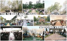 Top 10 East Texas Wedding Venues