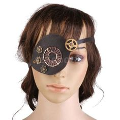#Adlut steampunk leather gears eye patch party fancy dress #cosplay #costume,  View more on the LINK: 	http://www.zeppy.io/product/gb/2/351704521064/