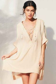 Out From Under Lola Beach Caftan Cover-Up - Urban Outfitters