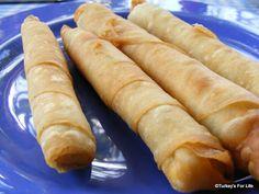 Turkish Food - How To Make Sigara Börek