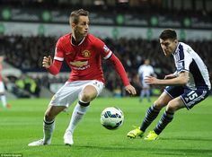 Januzaj was sporting some sheer white boots as the Belgian started for United against West Brom