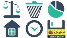 #Icon set - Business and Financial - Zizaza item for #free #icons #webdesign #iconset
