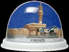 Firenze - Florence, Italy snowglobe