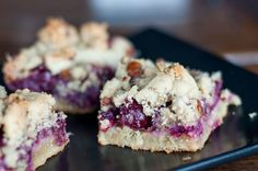 Cranberry Crumb Bars with Pecans and Rosemary - Naturally Sweetened, Gluten-Free/Grain-Free   Real Food Kosher