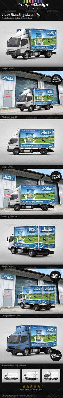 Lorry Branding Mock-Up