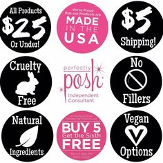 All these things are great reasons to buy from Posh!! poshtimewithmartha.po.sh