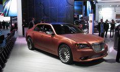 The #Chrysler 300S Turbine edition on the Detroit auto show floor. #NAIAS #Detroit