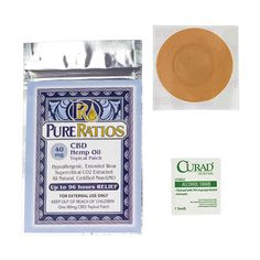 Looking for the best CBD patch for sale? Try Pure Ratios. We ship worldwide and free shipping to USA. Order online or call 1-844-HEMPOIL.