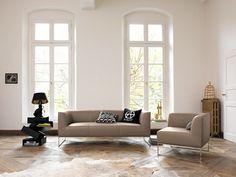 MELL Sofa aus Leder by COR Sitzmöbel Helmut Lübke Design Jehs Laub