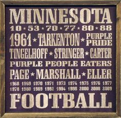 """Minnesota Vikings Vintage Sports Wall Decor 18""""X18"""" Wood Sign by Country Marketplaces, http://www.amazon.com/dp/B007HO11IM/ref=cm_sw_r_pi_dp_K1rprb01M5F9D"""