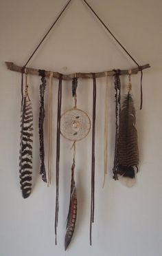sacred path medicine piece bohemian dream catcher by SpiritTribe, $62.00