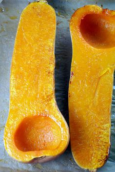 How to Roast Butternut Squash on http://www.elanaspantry.com