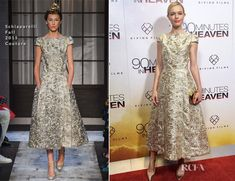 Kate Bosworth In Schiaparelli Couture -  '90 Minutes in Heaven' New York Premiere