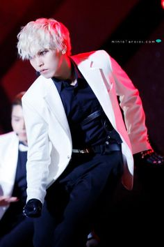 Sungmin - Super Junior -He looks so Badass with this look.. ^^