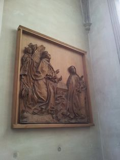 The Anunciation of Our Lady in the main church of Landshut