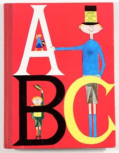 ABC by Lennart Hellsing and Poul Stroyer ( il)