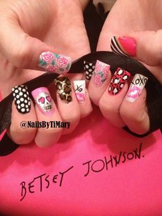 Betsey Johnson Nails By TiMary