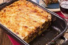 Mussaka de batata - Comida e Receitas