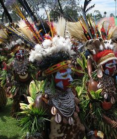 Papua New Guinea costume
