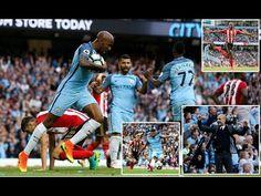Man City 2-1 Sunderland | Premier League | Heighlights - 13-08-2016 - UK...