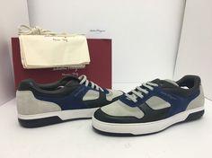 Salvatore Ferragamo Marat Sneaker Nero Moth Rope Men's Lace Up Shoes 12 D / M - Imgram Pin to Pin Mens Designer Shoes, Lace Up Shoes, Salvatore Ferragamo, Moth, Sneakers, Ebay, Products, Fashion, Moda