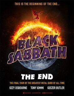 Tem, mas acabou: Black Sabbath anuncia fim da banda, mas fará turnê de despedida