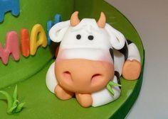 Glastonbury Birthday Cake by Cakes by Lynz, via Flickr