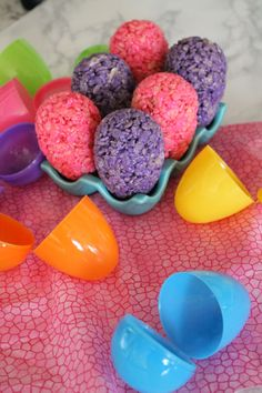 How to Make Rice Krispies Treat Easter Eggs