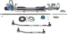 Rack and Pinion Steering Conversion from Total Control Products / Chris Alston's Chassisworks for Mercury Cougar Command And Conquer, Classic Mustang, Data Recovery, Diy Car, 1973 Mustang, Mercury, Mac, Construction, Reading