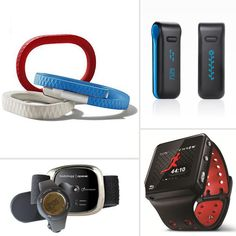 5 Gadgets That Track Your Fitness Stats Last week, Nike released its Nike FuelBand fitness-tracking device to much fanfare, but this celebrity-endorsed gadget isn't the first high-tech offering when it comes to gathering your workout stats. Read on to compare fitness monitors Bodybugg, Fitbit Ultra, MotoACTV, Jawbone Up, and the Nike FuelBand.